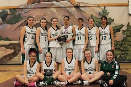 Sr. Girls Win Enver Creek Tournament