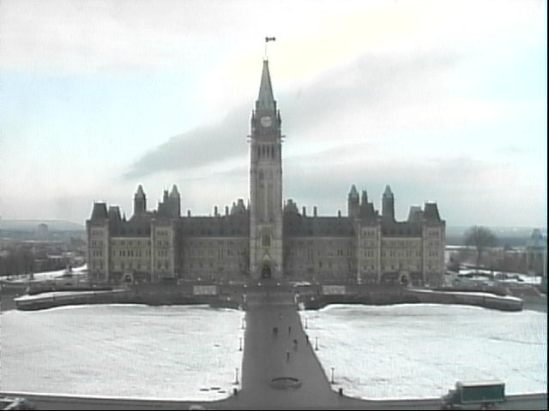 LiveCam Picture of Parliament Hill on December 14, 2012