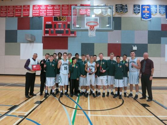 SrBoys won the Chancellor Tournament @ St Thomas More